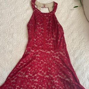 Red Homecoming/ Formal Laced Dress